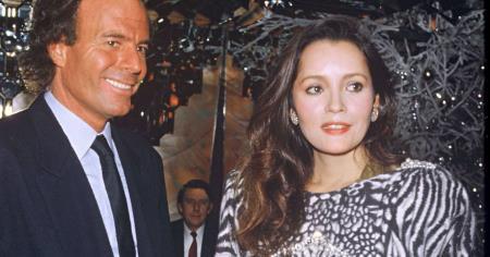 Хулио Иглесиас и его бывшая жена Исабель Прейслер