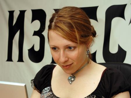 Яна Чурикова в молодости