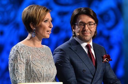 Яна Чурикова и Андрей Малахов