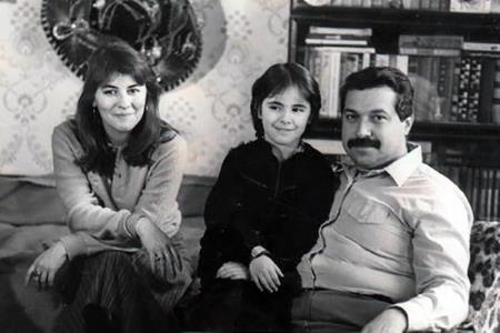 Юлий Гусман с семьей