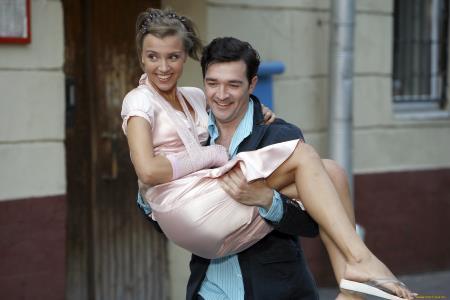 Егор Бероев с супругой Ксенией Алферовой