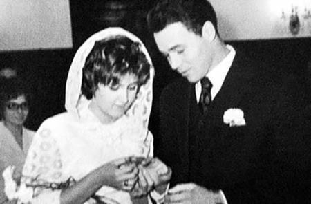Михаил Муромов с бывшей женой Тамарой