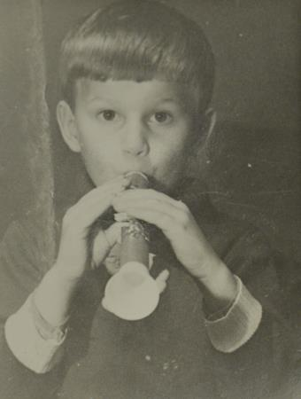 Дима в детстве