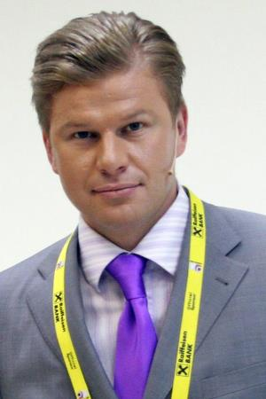 Дмитрий Губерниев в молодости