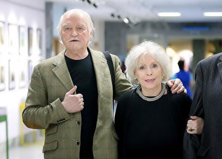 Алла Будницкая с мужем Александром