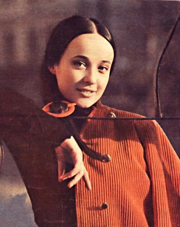 Ирина Печерникова в молодости