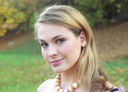Анна Горшкова в молодости