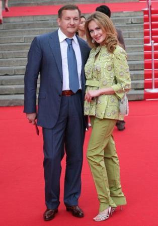 Анна Горшкова с бывшим мужем Михаилом Борщевым