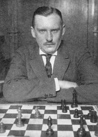 Шахматист Александр Алехин