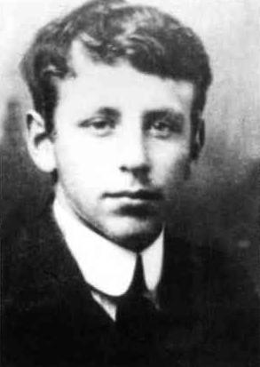 Евгений Шварц в молодости