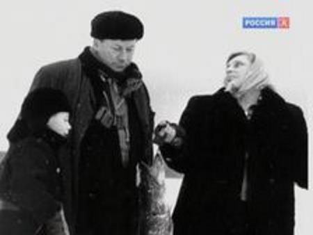 Василий Меркурьев с женой Ириной Мейерхольд