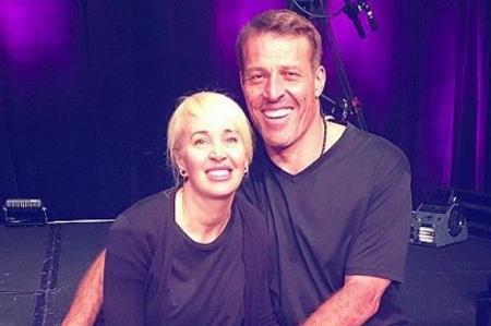 Тони Роббинс со второй женой Сейдж