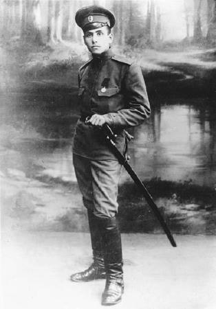 Рядовой Русской императорской армии Василий Блюхер в молодости - будущий маршал Советского Союза