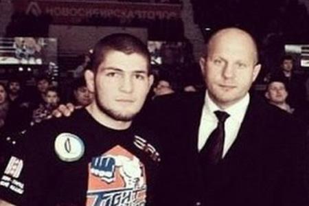 Хабиб Нурмагомедов с Федором Емельяненко