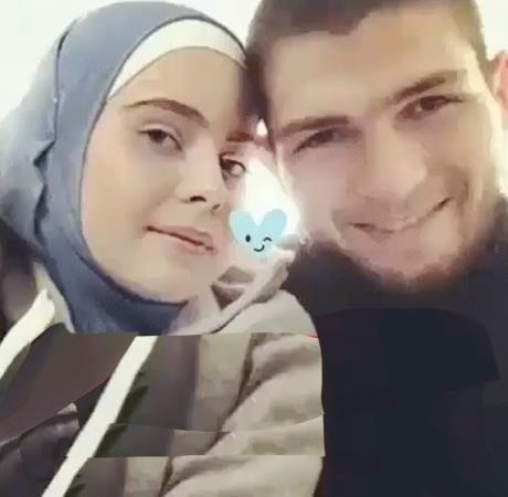 Хабиб с женой