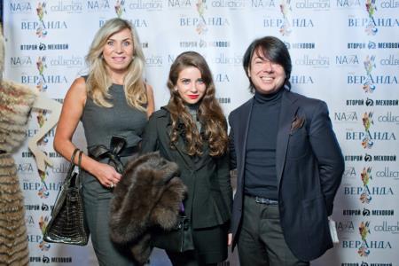 Семья Юдашкиных - Марина с мужем Валентином и дочерью Галиной в центре фото