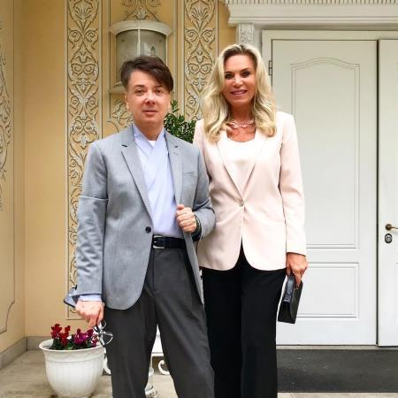 Марина и Валентин Юдашкины