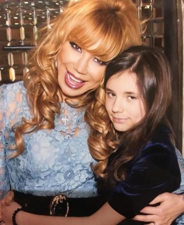 Маша Распутина и дочь Мария