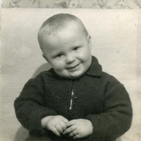 Сергей Крылов в детстве