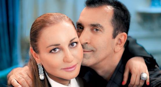 Александр Буйнов с женой Аленой