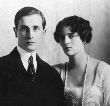 Юсупов с женой Ириной