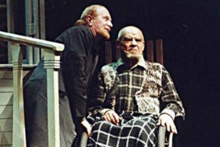 Михаил Глузский на сцене театра