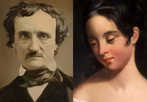 Эдгар По с юной женой Вирджинией