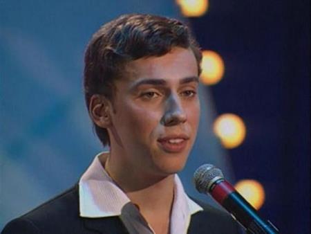 Максим Галкин в молодости