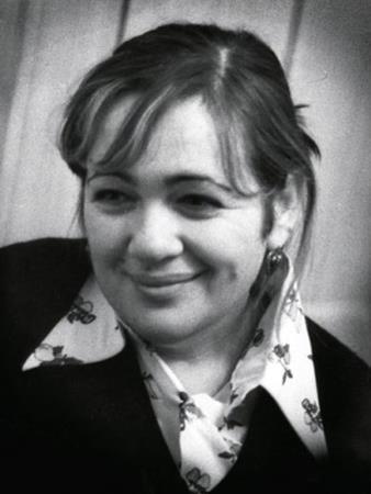 Галина Волчек в молодости