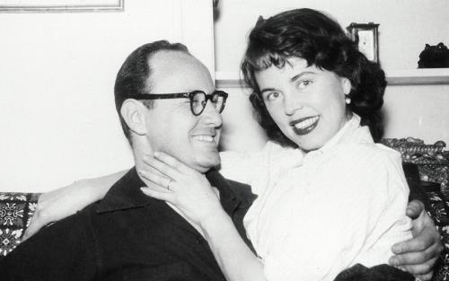 Стэн Ли с женой Джоан