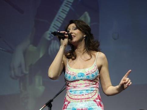 Наталья Сенчукова на сцене