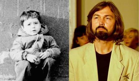 Ник Сафронов в детстве и в молодости