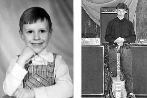 Денис в детстве и в юности