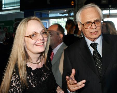 Владимир Наумов с женой Натальей Белохвостиковой