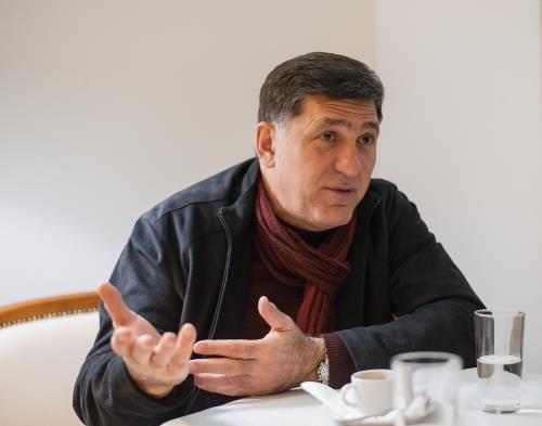 Актер, режисер Сергей Пускепалис