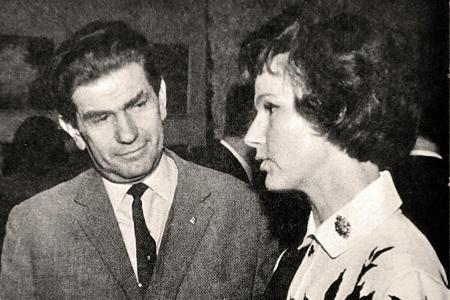 Юлия Борисова и Исай Спектор