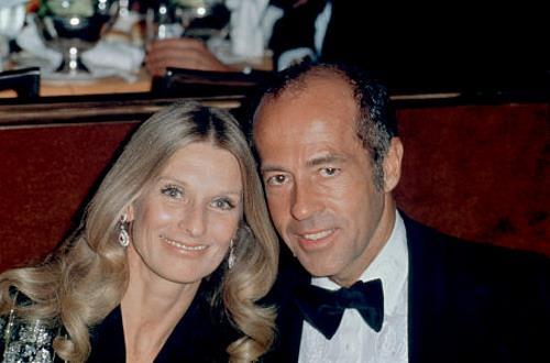 Клорис Личмен с бывшим мужем