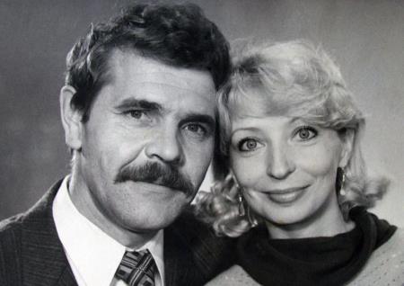 Алексей Булдаков с первой женой