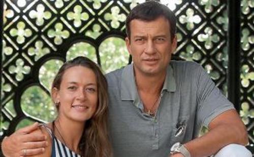 Мария Добржинская и Андрей Чернышов
