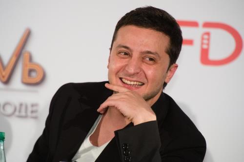 Политик Владимир Зеленский
