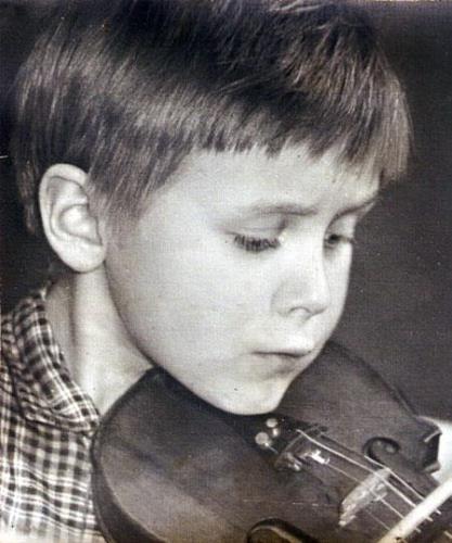 Юра Вяземский в детстве