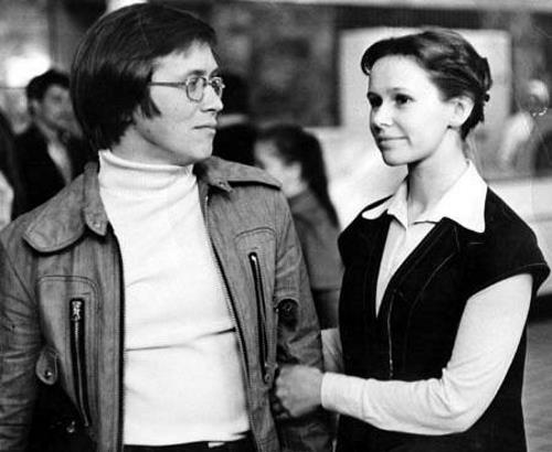 Юрий Вяземский с сестрой актрисой Евгенией Симоновой