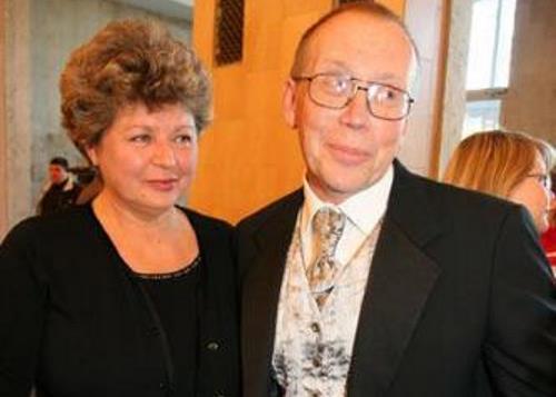 Юрий Вяземский с женой Татьяной