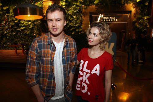 Алексей Бардуков и Анна Старшенбаум
