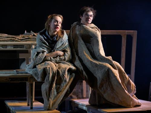 Алла Покровская на сцене театра