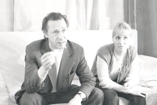 Алла Покровская и Олег Ефремов