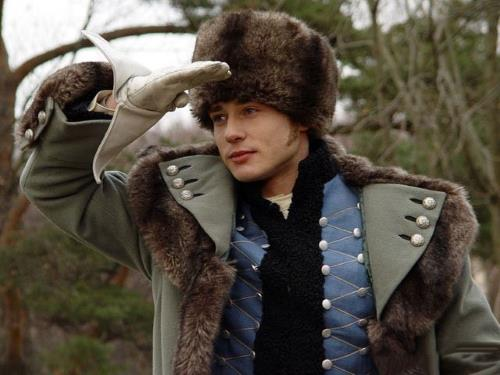 Дмитрий Исаев в роли цесаревича