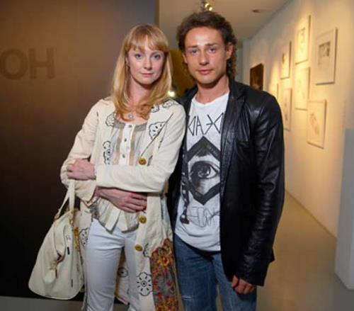 Дмитрий Исаев с женой Оксаной