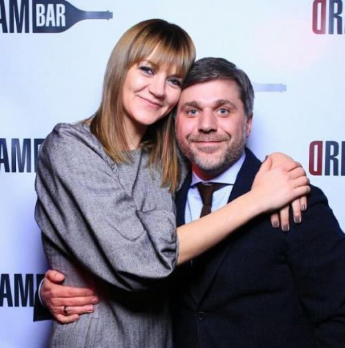 Анна Уколова с мужем Сергеем Пугачевым