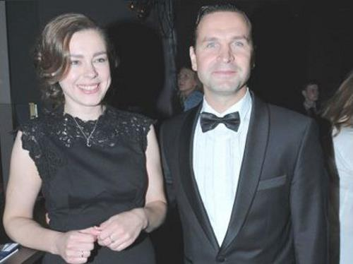 Виктор Добронравов с женой Александрой
